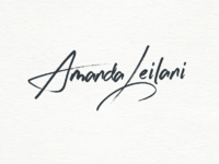 Amanda leilani wordmark