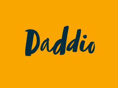 Daddio branding web start-up print brand packaging subscription box