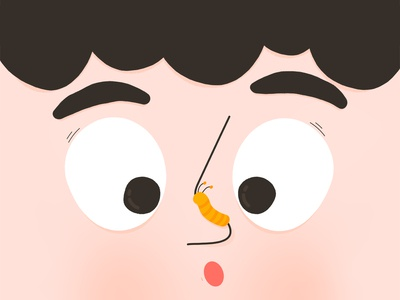 Something on my nose!