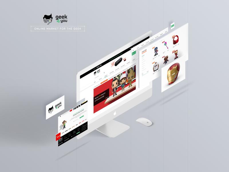 Geek4You website design website design