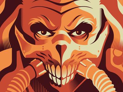 Joe movie poster mad max poster vector movie illustration design