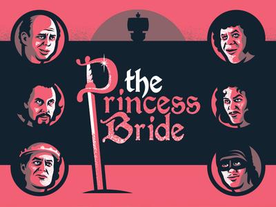 Princess Bride Assets the princess bride movie posters geometric screen print poster illustration design