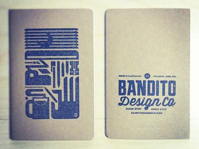 Notebook Printed design illustration typography logo notebook stamp moleskine diy