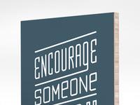 Encourage plywerk