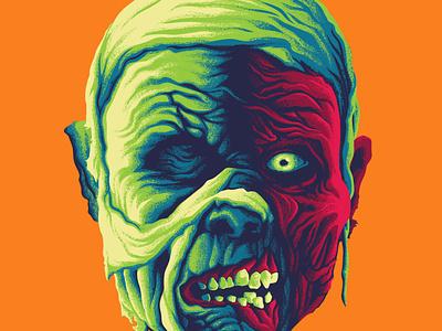 squad goals monster squad portraits mummy gillman frankenstein wolfman dracula movie monsters apparel illustration design