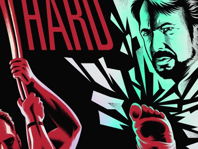 yippee ki yay movies screen printing die hard movie posters illustration design