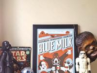 Blue milk big crop
