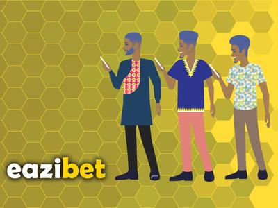Eazibet - Custom Character Illustration