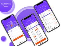 Bus Booking App Design