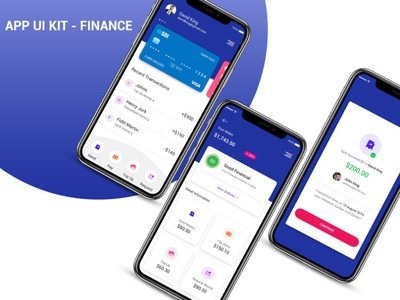 App Ui Kit - Finance