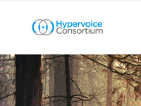 Hypervoice Homepage Mockup