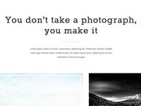 Portfolio homepage v1