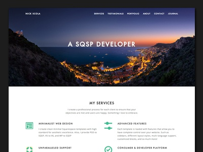 Personal Website v3