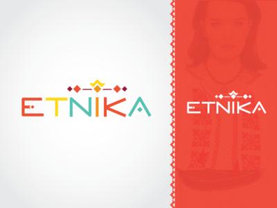 Logo for national Moldavian ethnic clothes