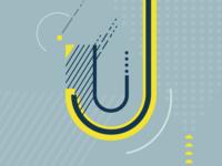U Letter Illustration