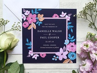 Forever Floral Save The Date