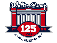 Walter Camp 125 Years logo