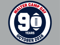 Walter Camp Day 90 Years