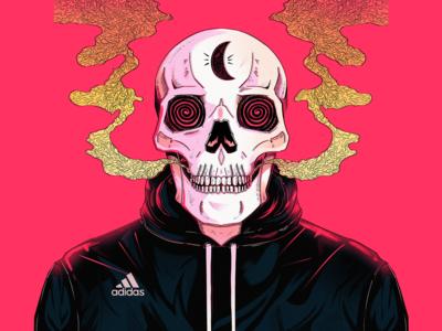 Adidas Skull
