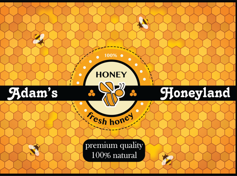 Honey Sticker