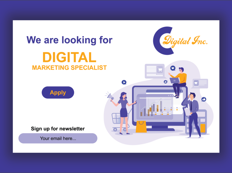 DIGITAL MARKETING OPEN JOB