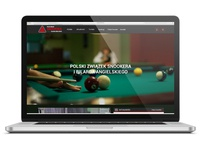 Snooker website design