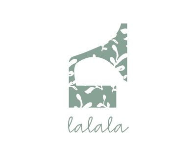 Lalala logo a day brand freelance designer branding design freelance design branding agency illustration graphic  design dailylochallenge conception graphique design graphisme branding logo