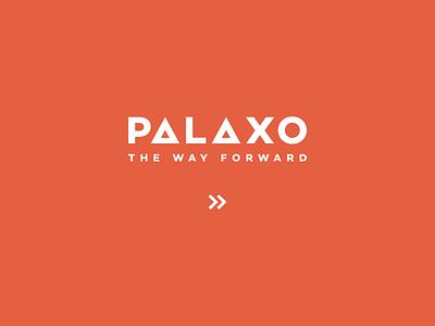Palaxo Logotype typography logotype logo