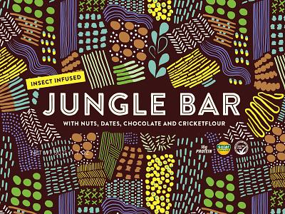 Branding Jungle Bar sustainability organic design pattern graphic design chcocolate food brand strategy branding pacjaging