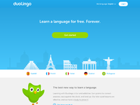 Duolingo splashpage full