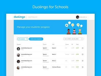Duolingo for Schools