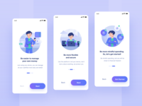 Onboarding for Money Manager App
