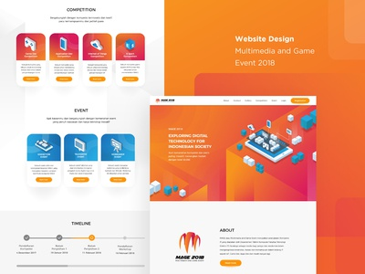 Website Design for MAGE 2018
