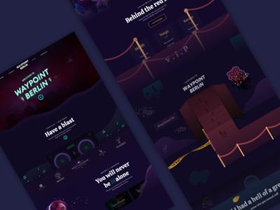 Night Club - Website Concept
