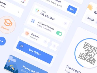 Public Transit App - UI Components