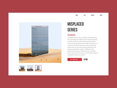Buying page product page typography web ui design