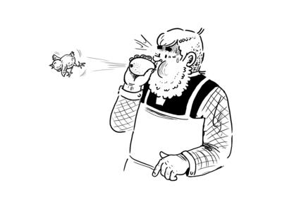 Funny Gärtner Poetschke cartoon gag