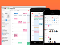 Sunrise Calendar on Android, iOS and Web