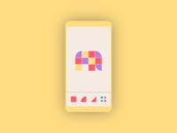 Lifelimitsart 017 / Shape drawing app