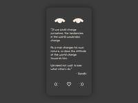 Lifelimitsart 023 / Quotes Dark version