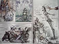 "artwork 2.  ""Comic story"""