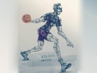 "art ""Robot basketball"