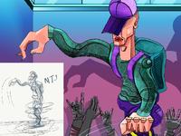 """illustration    """"Dancer"""""""