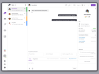 Chat Dashboard for Customer Executives