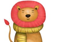 Procreate lion