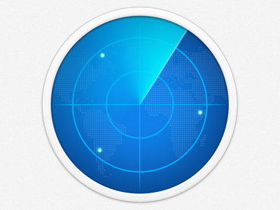 Radar Icon By Mayor Liu Dribbble