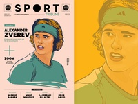 Sport Tribune Illustrations #1 - Cover