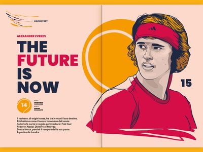 Sport Tribune Illustrations #2 - Cover story