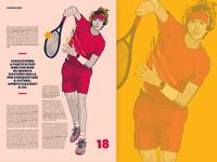 Sport Tribune Illustrations #4 - Cover story