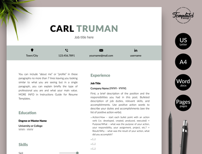 Simple Resume Format Designs Themes Templates And Downloadable